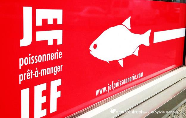 Jef Poissonnerie, quartier Saint-Roch