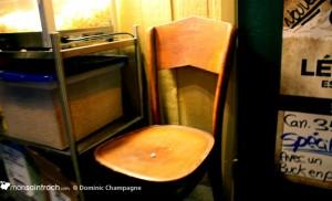 Taverne Jos Dion - chaise