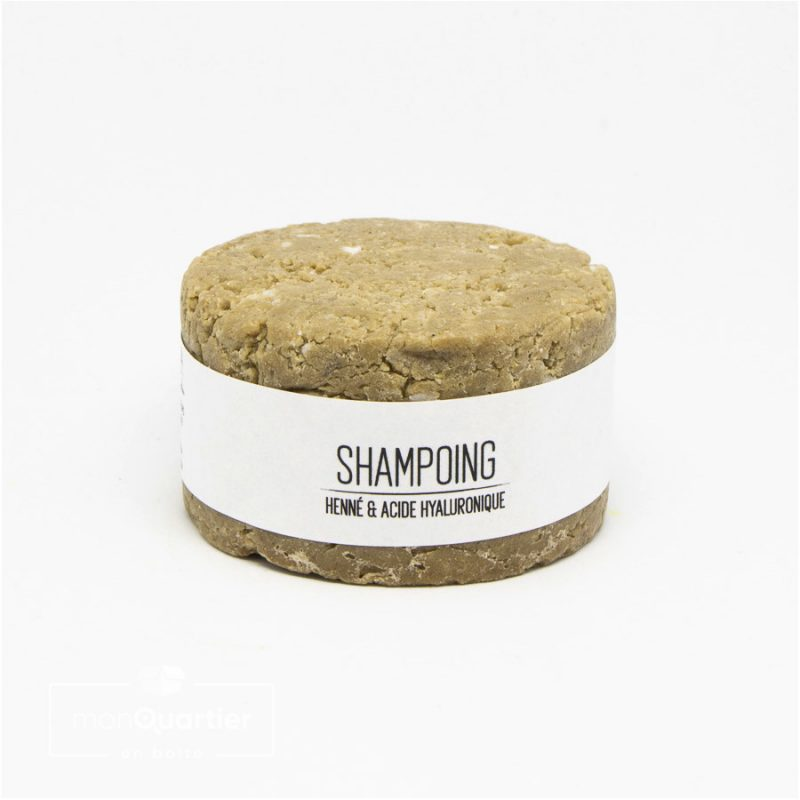 Shampoing solide | Henné & Acide hyaluronique