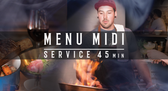 Menu midi en 45 minutes! | District Saint-Joseph