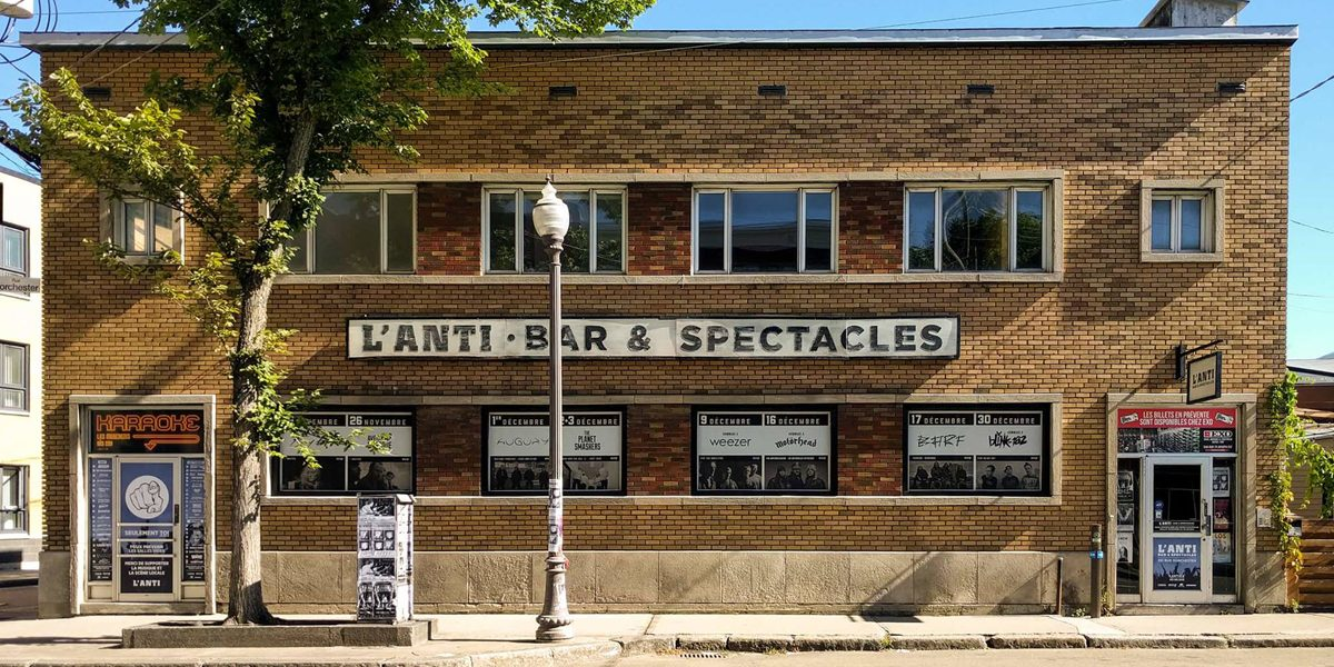 Faire la fête en 5 étapes selon L'Anti Bar & Spectacles | 19 juillet 2017 | Article par David Ouellet