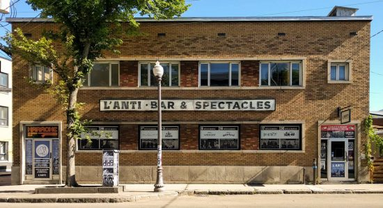 Faire la fête en 5 étapes selon L'Anti Bar & Spectacles - David Ouellet