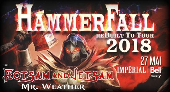 Hammerfall | Flotsam and Jetsam | Mr.Weather