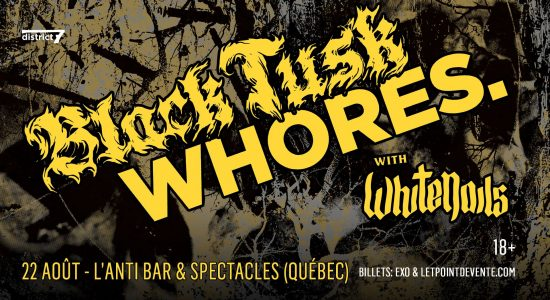 Black Tusk, Whores, WhiteNails, Spacecraft / L'Anti