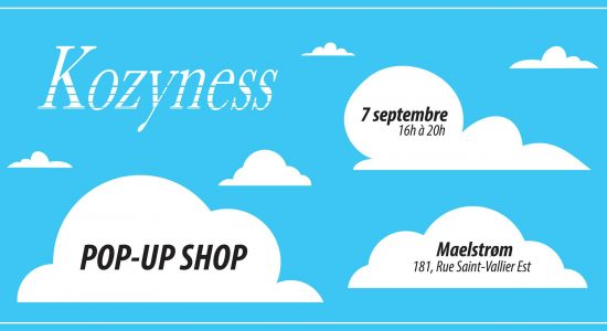 Kozyness Pop-up shop