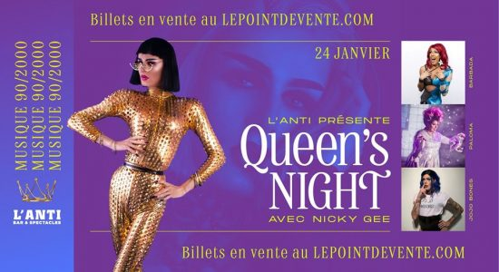 Queen's Night St-Roch – Musique 90/2000