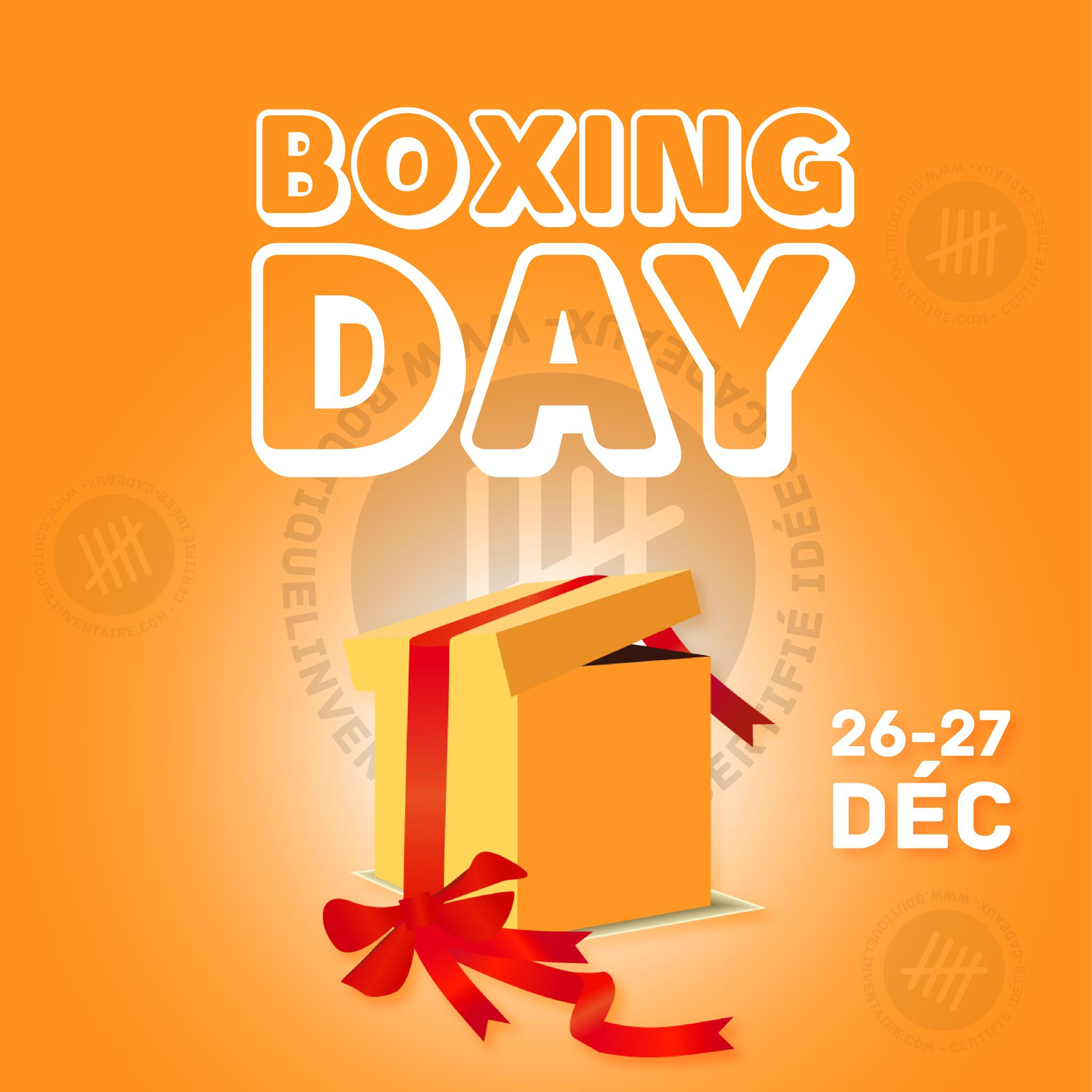 Boxing Day | L'Inventaire