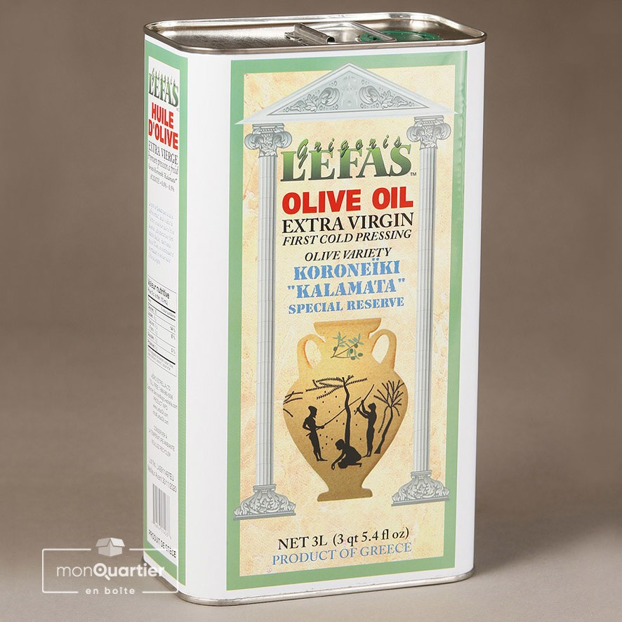 Huile d'olive Grigoris Lefas