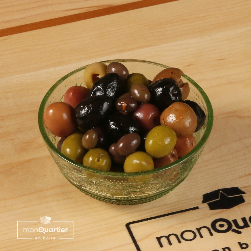 Olives mixtes