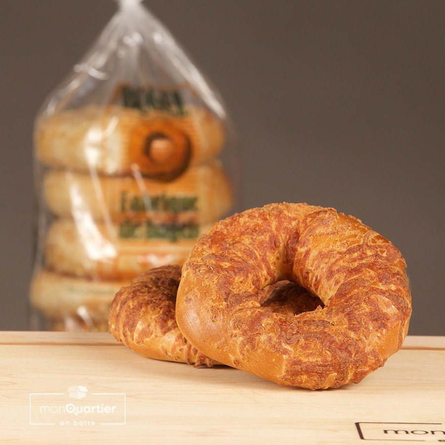 6 bagels au fromage