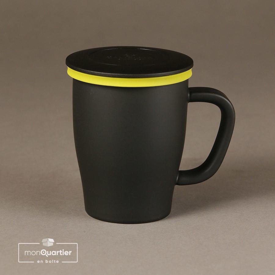 Tasse à infuser en porcelaine
