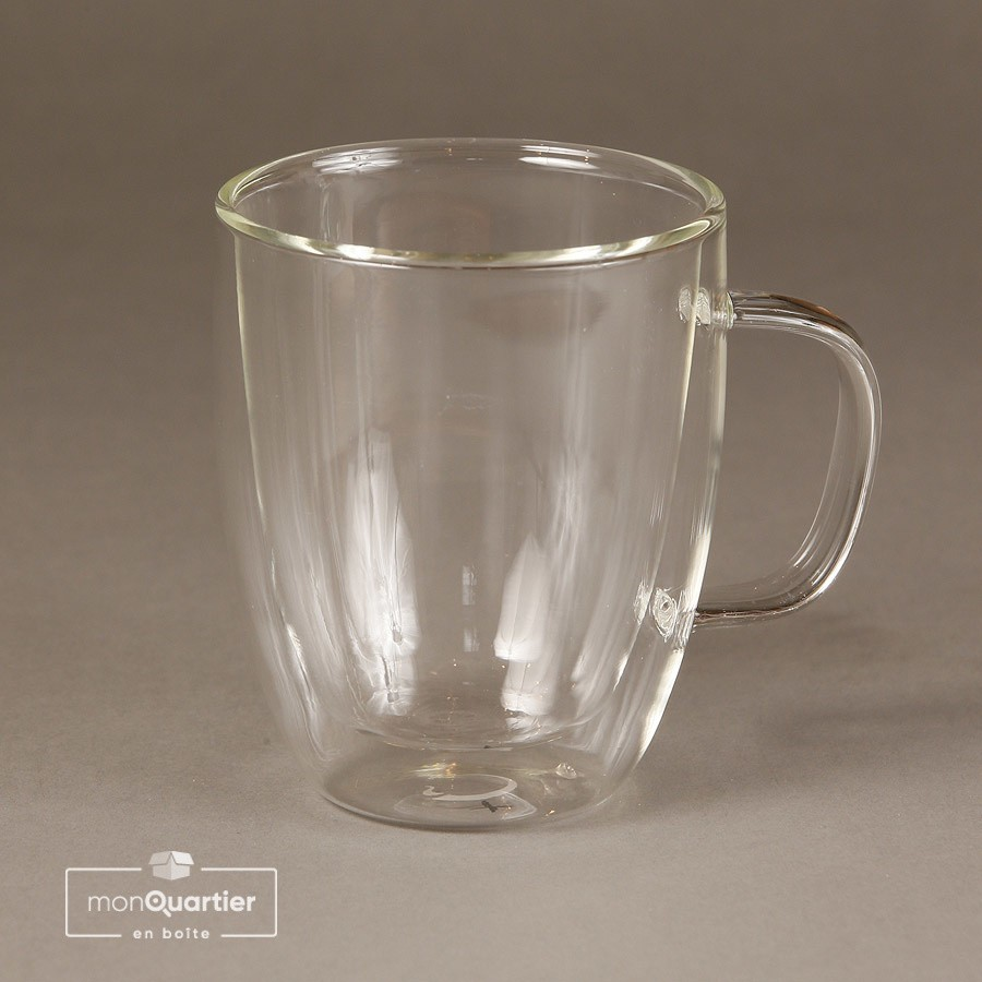Tasse en verre double paroi | Limpide