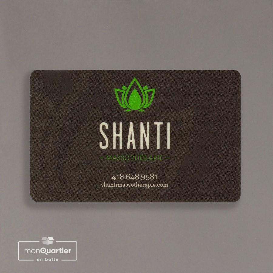 Certificat cadeau Shanti Massothérapie