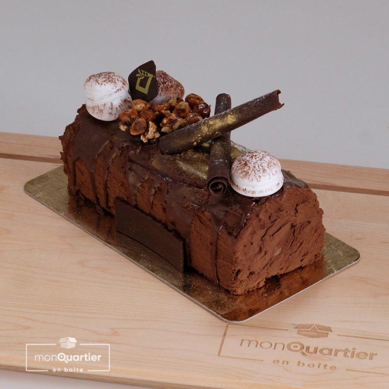 Bûche Classique Royale tout chocolat