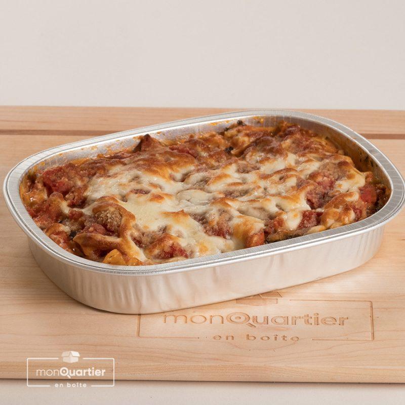 Lasagne végétarienne à l'aubergine
