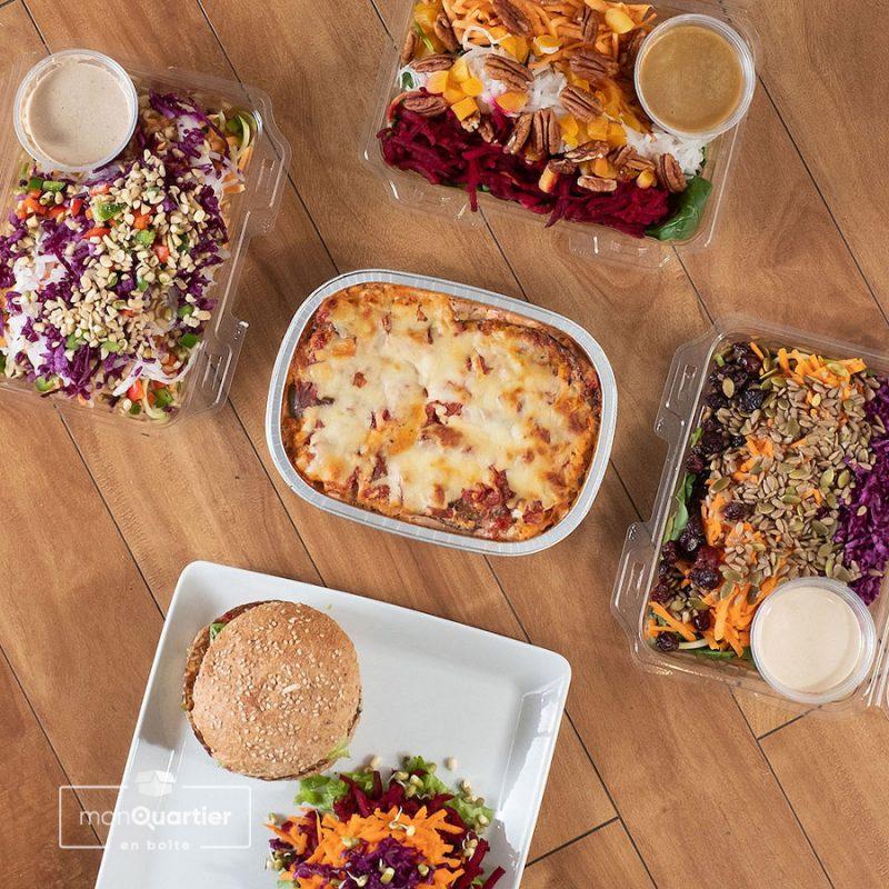 Boîte à lunchs sans gluten