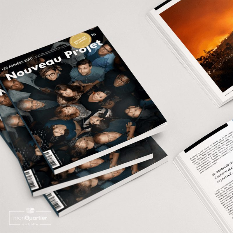 Magazine Nouveau projet
