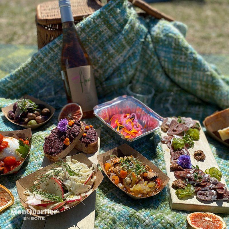 Boîte Pique-Nique + Vino du Fin Gourmet