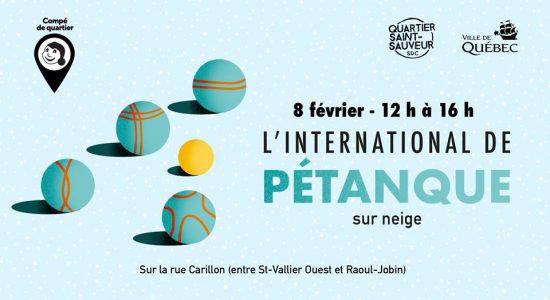 International de Pétanque sur neige de Saint-Sauveur