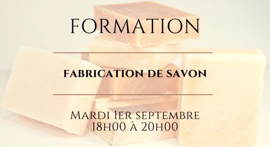 Atelier: Fabrication de savon