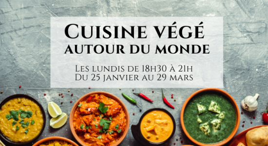 Cuisine végétarienne autour du monde (En ligne)