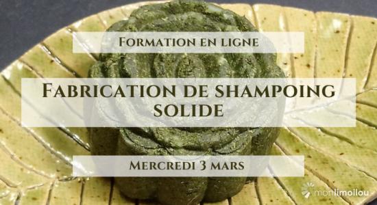 Formation en ligne-Fabrication de shampoing solide