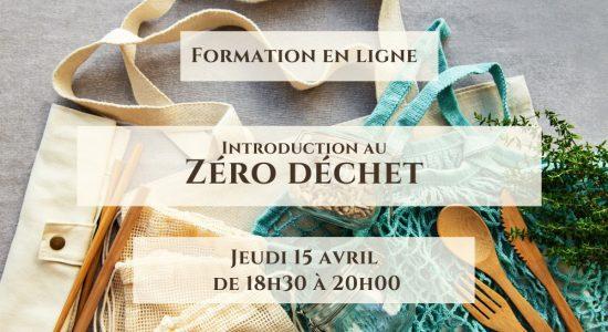 Formation Zéro Déchet GRATUITE