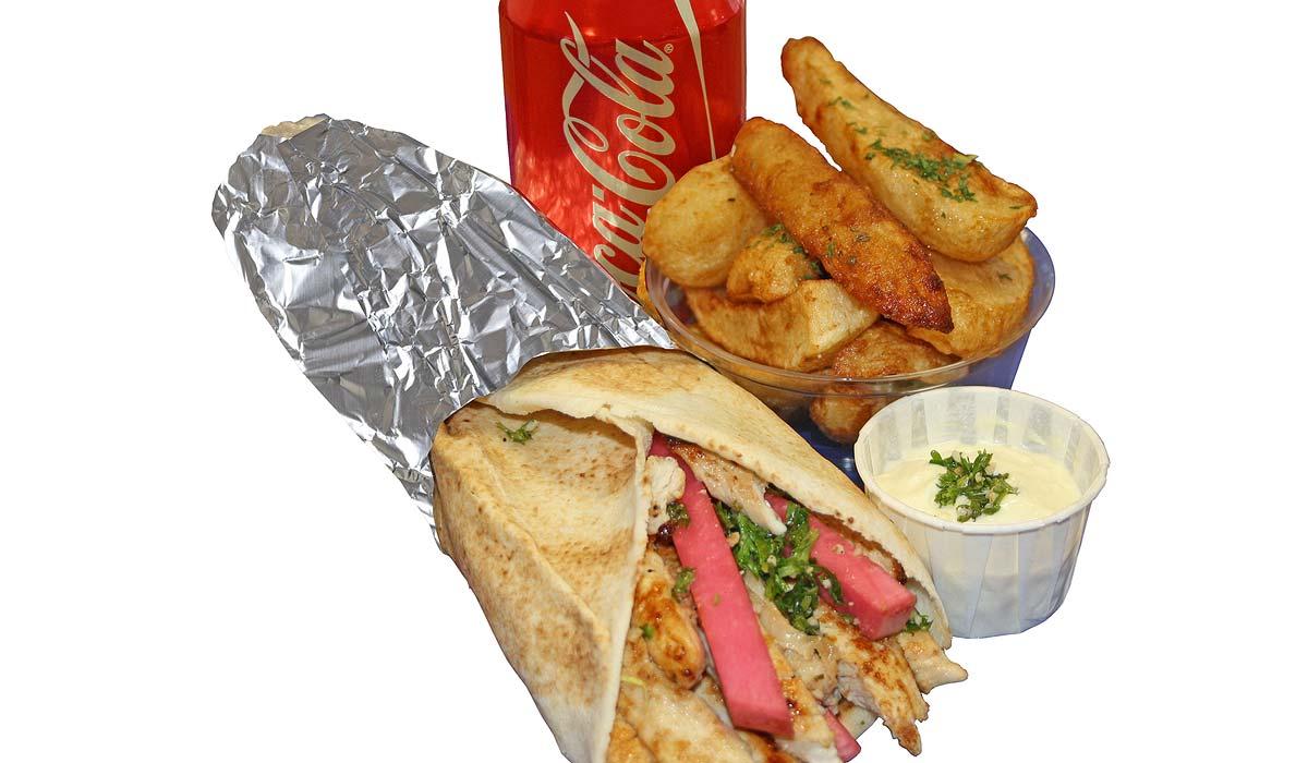 Assiette Shish-Taouk à emporter ou en livraison | Shish Taouk Shawarma Express