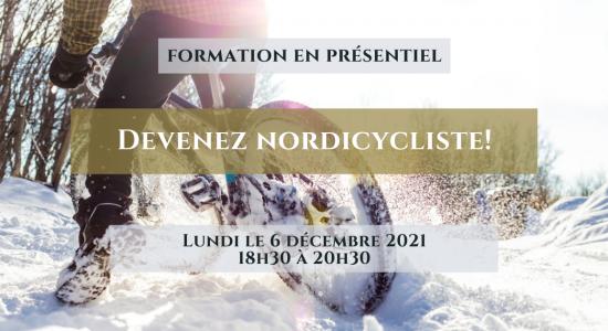 Formation: Devenez nordicycliste!