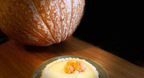 Gâteau au fromage à la citrouille épicée | Au Fruit des Moines