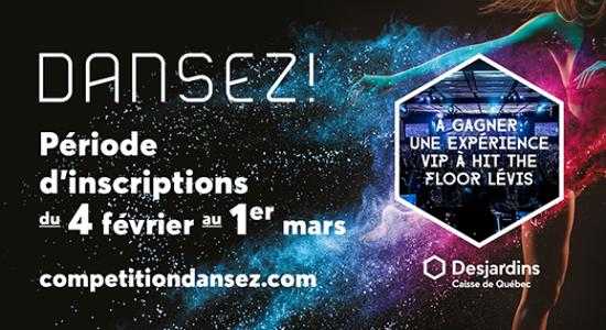 Inscription: 2e édition de la Compétition Dansez!