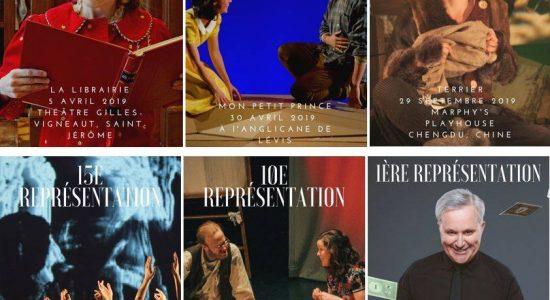 Six spectacles sur la route ou en création en 2019-2020