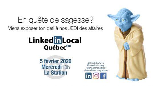 LinkedIn Local Québec #10 – Édition sagesse
