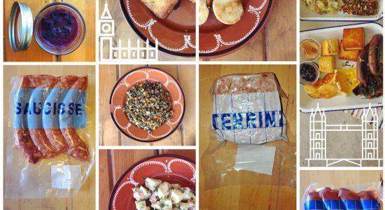 Ensemble déjeuner   Renard et la chouette (Le)