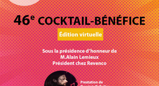 46e cocktail-bénéfice du Centre Durocher