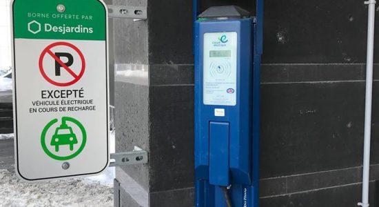 4 nouvelles bornes de recharge électriques | Desjardins – Caisse de Québec