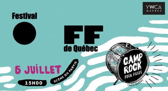 Festival OFF – Camp Rock YWCA Québec