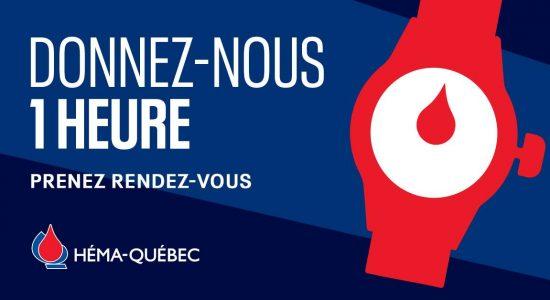 Collecte de sang à Québec au Cégep de Garneau
