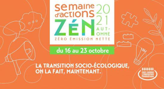 Semaine d'actions ZéN 2021