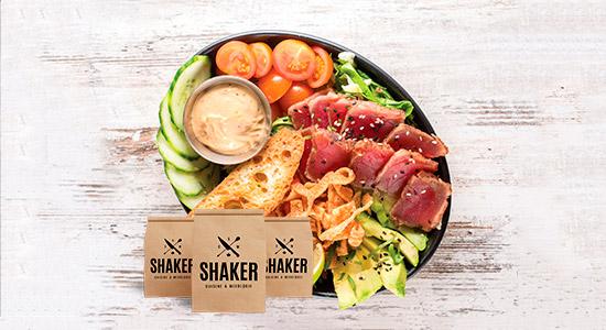 25% sur le take out | SHAKER St-Joseph – Cuisine & Mixologie