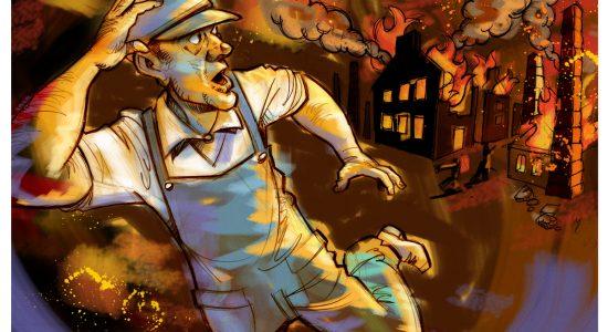 L'incendie de 1866 (1 de 4) – Feu et frayeur - Dominic Champagne