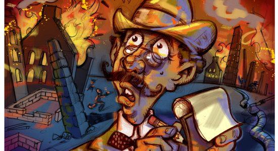 L'incendie de 1866 (3 de 4) – Cendre et désolation - Dominic Champagne