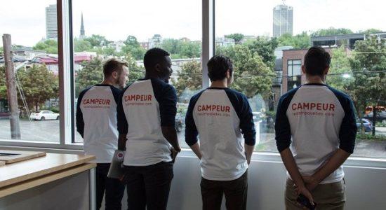 <em>Québec, ville entrepreneuriale</em> soutient un Campeur - Monsaintroch
