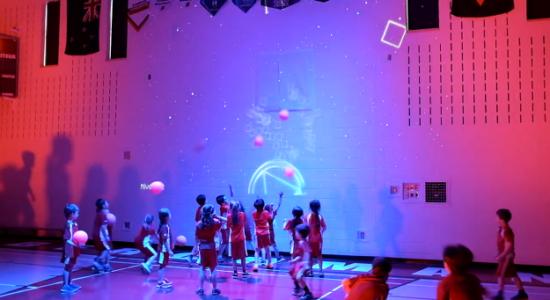 Gym Interactif : SAGA développe un terrain de jeu pour apprendre - Monsaintroch