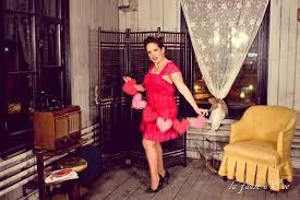 Une séance photo pin-up glamour avec La faute à Ève - Jessica Lebbe