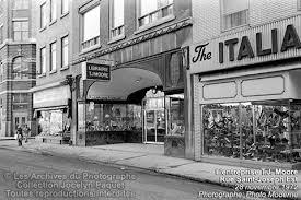 Saint-Roch dans les années 1970 (6) : librairie T.J. Moore - Jean Cazes