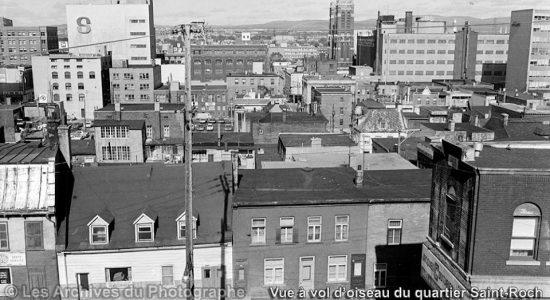 Saint-Roch dans les années 1960 (11) : vue à vol d'oiseau - Jean Cazes