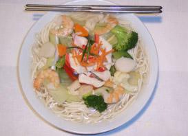 Promo du lundi : soupe et rouleau | Wok N' Roll