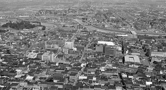 Saint-Roch dans les années 1970 (8) : vue du haut du Complexe G - Jean Cazes
