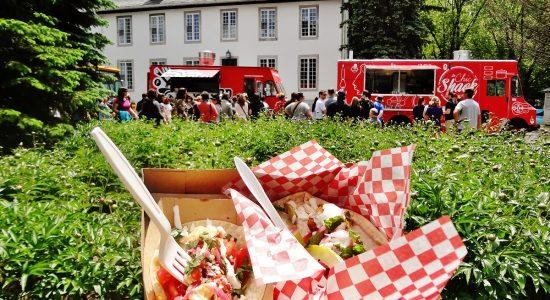 Les camions-restaurants lancent leur saison estivale au Domaine Maizerets - Jessica Lebbe